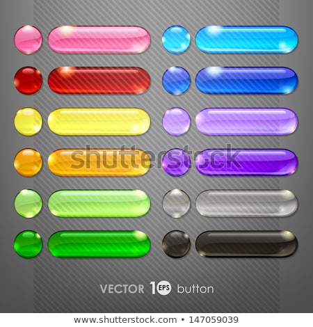 Colorful glassy web buttons Stock photo © orson