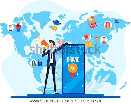 Global Branding Stock photo © kentoh