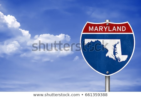 Baltimore, Maryland Highway  Sign Stock photo © kbuntu