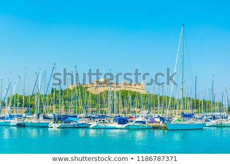 The fort carré from Antibes in France stock photo © Musat
