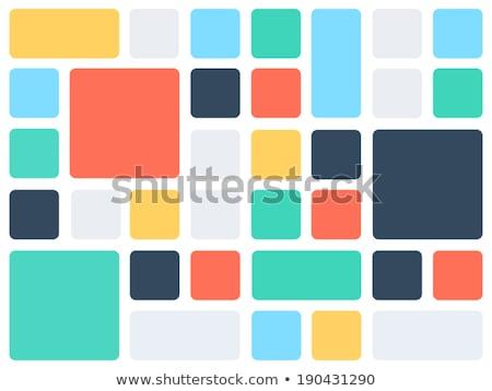 Résumé coloré affaires design technologie fond Photo stock © orson