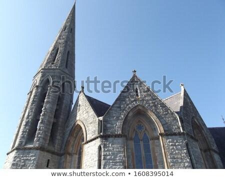Heilig Kirche Vorderseite Ansicht Irland Stock foto © igabriela