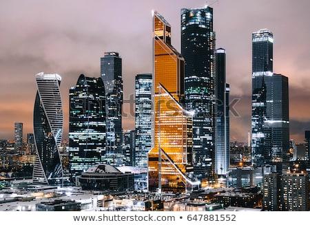 Небоскребы Москва иностранный министерство город Skyline Сток-фото © Paha_L