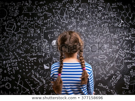 little girls studying in a classroom Stock photo © photography33