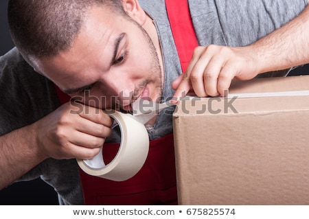 Stock photo: Tooth With Tape