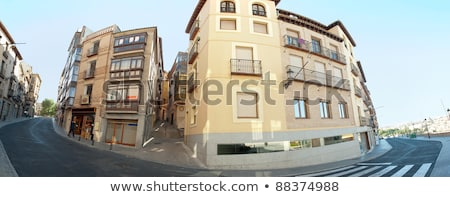 Panoramic view os old streets of Toledo, Spain Stock photo © HASLOO