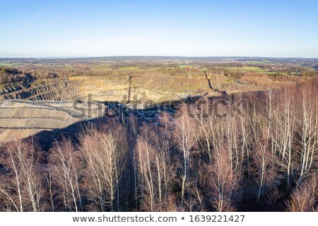 sunny scenery near stone pit Stock photo © prill