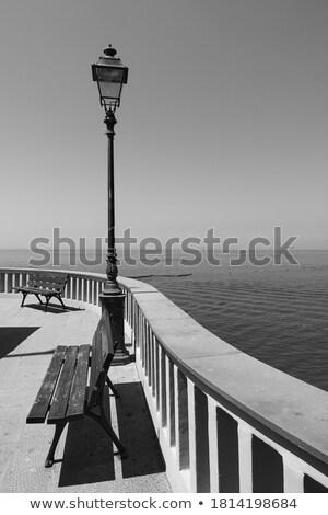 Promenade célèbre petite ville plage maison Photo stock © Antonio-S