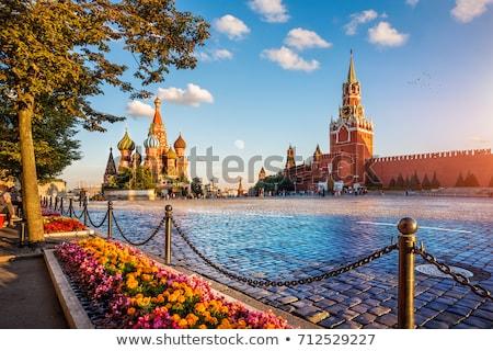 モスクワ クレムリン クロック 空 手 城 ストックフォト © Paha_L