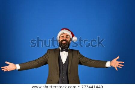Businessman pretending to give hug Stock photo © photography33