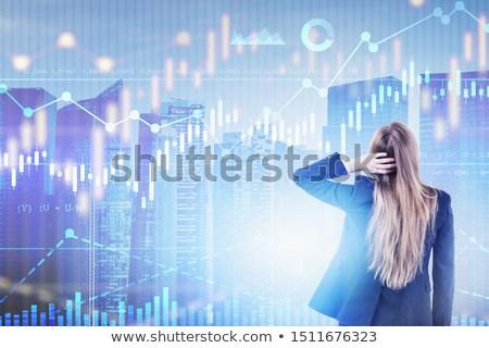 Chart Confusion Stock photo © blamb