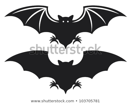 Scared Cartoon Bat Stock photo © indiwarm
