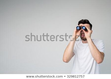 Divertente uomo bianco bellezza ragazzo ricerca Foto d'archivio © Massonforstock