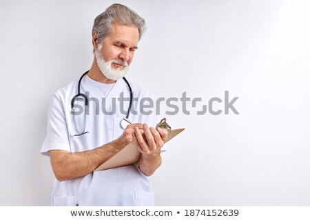 experienced man making a wall Stock photo © photography33