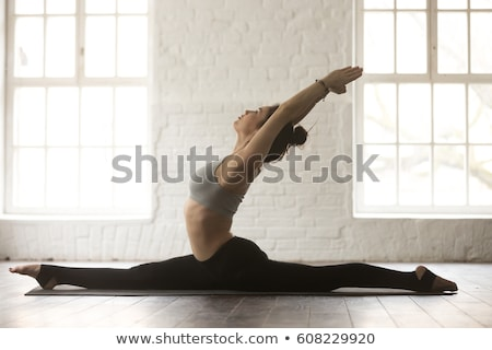 hanumanasana monkey pose Stock photo © dolgachov