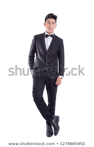 Full length portrait of young gentleman Stock photo © stockyimages
