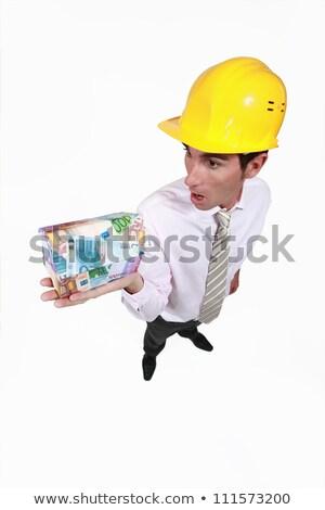 Ingeniero conmocionado descubrir dinero nuevos Foto stock © photography33