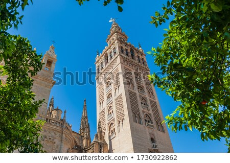 Torre arquitectura historia medieval España Foto stock © advanbrunschot
