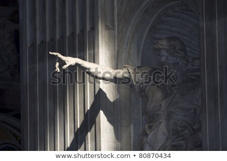 Monument of pointing finger  Stock photo © fixer00