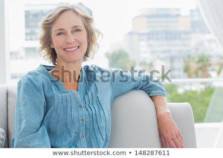 Mature fair-haired woman Stock photo © photography33