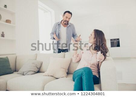 成熟した女性 夫 顔 愛 カップル 男性 ストックフォト © photography33