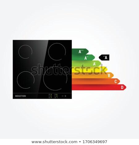 panela · fogão · verde · 3d · render · trabalhar · luz - foto stock © simpson33