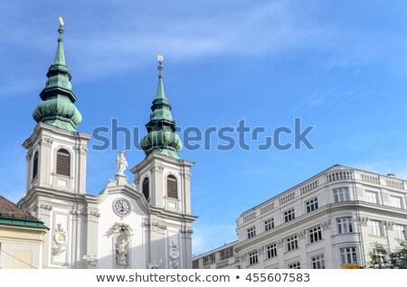 The Baroque Church of Mariahilf in Vienna, Austria Stock photo © vladacanon