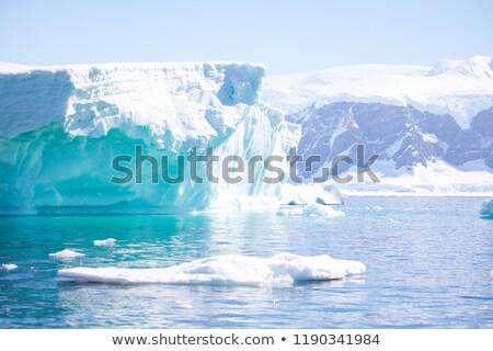 okyanus · yansıma · deniz · kar · soğuk · kutup - stok fotoğraf © timwege