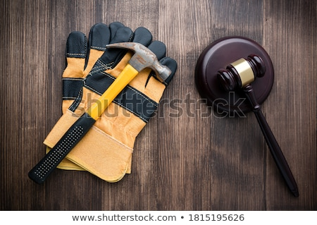 architect with a mallet stock photo © photography33
