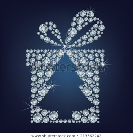 Diamond Christmas Tree / Holiday background / art-illustration Stock photo © Taiga