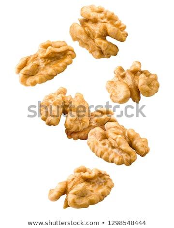 cérebro · nutrição · comida · dieta · peixe · nozes - foto stock © leonardi