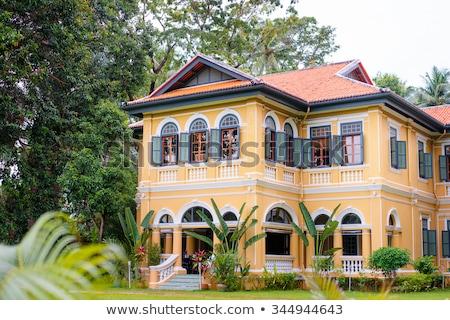 колониальный дома Азии фасад здании стиль Сток-фото © RuslanOmega