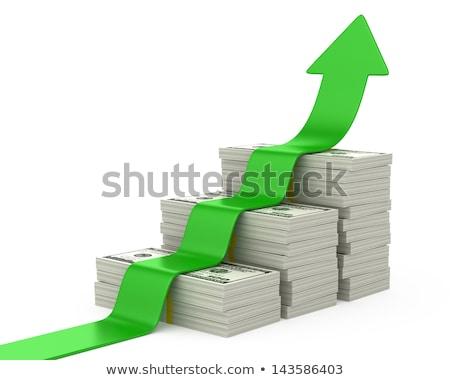 dollars stairway Stock photo © 4designersart