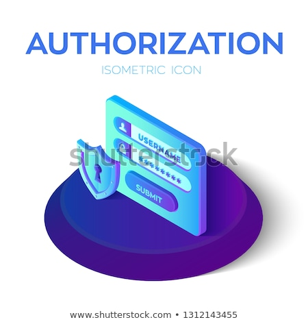Stock photo: Register key concept