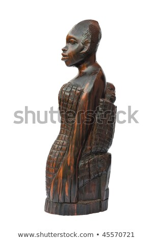 african woman with child statuette Stock photo © Antonio-S