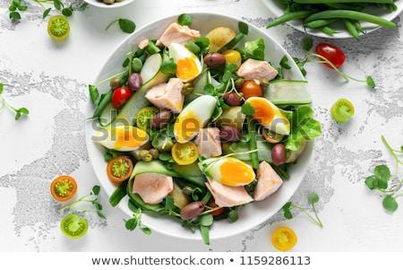 смешанный · яйца · традиционный · дизайна · яйцо · оранжевый - Сток-фото © discovod