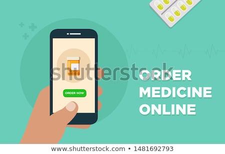 Pills - Order Online Stock photo © iqoncept
