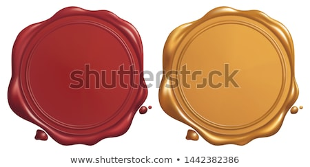 sealing wax stamp on a letter stock photo © koufax73