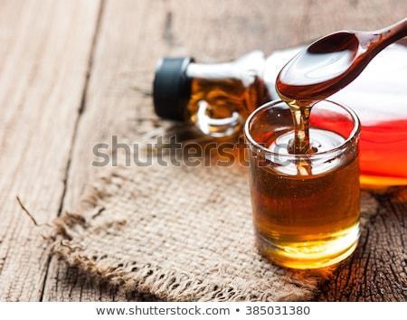 Arce jarabe botella Foto stock © MKucova