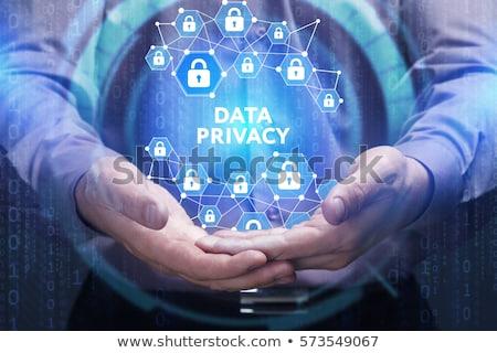 Chave computador privacidade senha Foto stock © stuartmiles