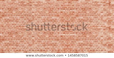 Decorative red brick wall texture Stock photo © mycola