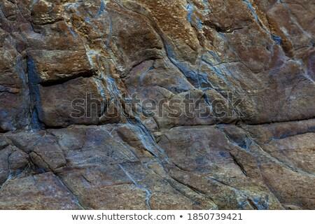 Tierra crack amarillo pared edad Foto stock © stevanovicigor