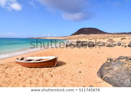 ラ 島 スペイン 空 水 建物 ストックフォト © meinzahn