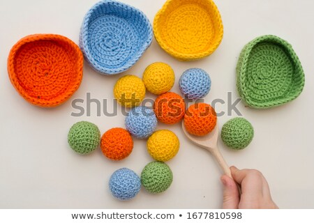 Crocheted Easter Stock photo © FOTOYOU