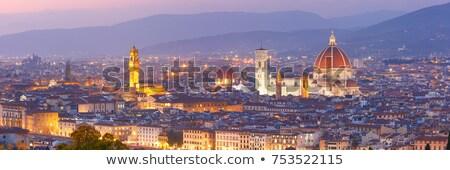 Тоскана · мнение · старый · город · Италия · город · стены - Сток-фото © tiero
