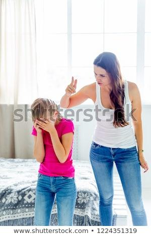 Mother Arguing With Teenage Daughter Stock photo © HighwayStarz