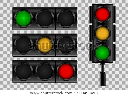 racing traffic lights stock photo © milsiart