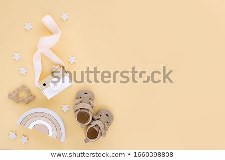 Baby toy on white stock photo © nyul