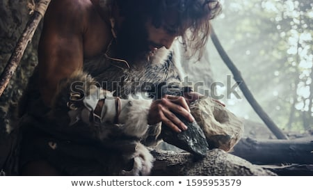 Prehistoric stone axe Stock photo © Klinker