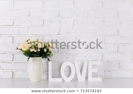 love in wooden letters stock photo © barbaraneveu
